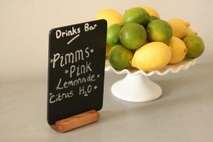 Chalkboard product photo